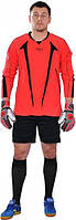 Футбольная вратарская форма Europaw с шортами (малиновая)