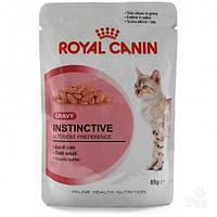 Royal Canin Instinctive 12 (кусочки в соусе) консервированный корм для кошек старше 1 года