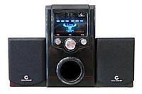 Акустическая система AU - 0384 (220V + USB + FM + карта памяти)