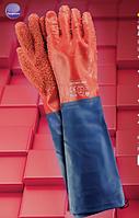 Перчатки защитные, покрытые вспененным ПВХ RPCV60-FISH, фото 1