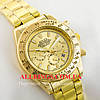 Кварцевые мужские наручные часы Rolex Cosmograph Daytona gold gold