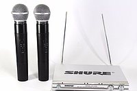 Микрофоны Shure DM SH 500, вокальная радиосистема, ручной беспроводной микрофон со станцией Shure