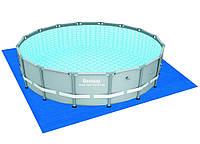 BW Бассейн каркасный 56452BW круглый 488*122 см с песочным-насосом