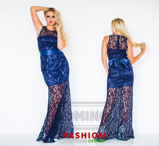 30ff12f0e6fdc38 Вечернее платье / гипюр, атлас / Украина - Магазин женской одежды