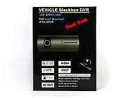 Видеорегистратор автомобильный DVR H990 c GPS на 2 камеры