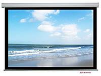 AV Screen SM120XEH-D(R) проекционный экран Fiber Matte White мотор SOMFY, фото 1