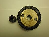 💫Коническая пара для болгарки Киров диаметры большой шестерни 74х15 мм. высота малой шестерни 24 мм.1036💫
