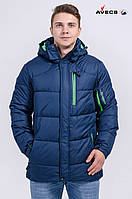 Куртка мужская Avecs AV-7342507 Gray blue Авекс Размеры 46 50 52 54