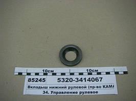 Вкладыш нижний рулевой (пр-во КАМАЗ), 5320-3414067