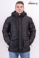 Куртка мужская Avecs AV-7342308 Black Авекс Размеры 50 52