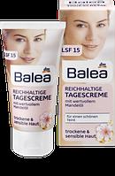 Balea Reichhaltige Tagescreme, 50 ml - Дневной крем для сухой кожи лица с солнцезащитным фактором 15, 50 мл