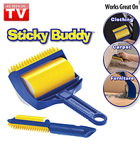 Валик для чистки одежды Стики Бадди (Sticky Buddy)