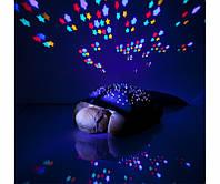 Проектор звездного неба Черепаха Turtle, Детский ночник черепаха, Проектор зоряного неба Черепаха