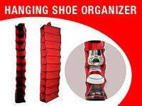 Органайзер подвесной для хранения обуви SHOES ORGANISER BOX 10, органайзер для обуви на 10 пар