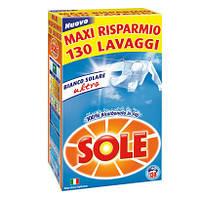 Порошок для стирки белого Sole Bianco Solare Италия 130 стирок