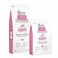 Brit Care Puppy Salmon and Potato Беззерновой корм для щенков с лососем и картофелем 3кг
