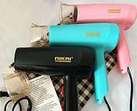 Фен для волос Nikai DH 938, бытовой фен для высушивания волос, сушка для волос, компактный фен для дома