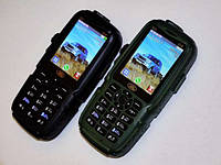 Смартфон Land Rover S23 Black 3SIM 10.000mAh USB-лампа противоударный корпус
