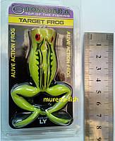 Силиконовая лягушка жаба Kosadaka Target Frog цвет LY