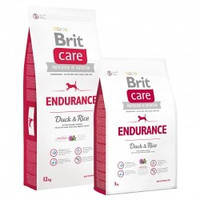 Brit Care Endurance Duck & Rice Корм для взрослых активных собак с уткой и рисом 3кг