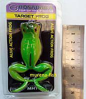 Силиконовая лягушка жаба Kosadaka Target Frog цвет MHT