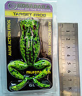 Силиконовая лягушка жаба Kosadaka Target Frog цвет GL