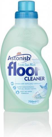 Засіб для миття підлог Astonish Морська свіжість, 750 мл