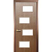 "Дверь межкомнатная ""Сахара 4S"" Золотая ольха (Новый стиль)"