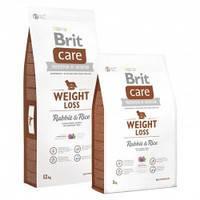 Brit Care Weight Loss Rabbit с кроликом для собак с избыточным весом  3кг