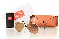 Солнцезащитные очки RAY BAN AVIATOR  3026BR_G