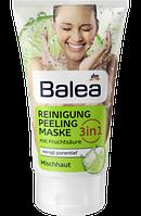 Balea Reinigung Peeling Maske 3in1, 150 ml - Очищающий гель-пилинг-маска 3в1 для комбинированной кожи лица