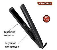 Выпрямитель для волос черный  VT-4004