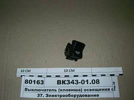 Выключатель (клавиша) освещения салона (Автоарматура, С-Пб), ВК343-01.08