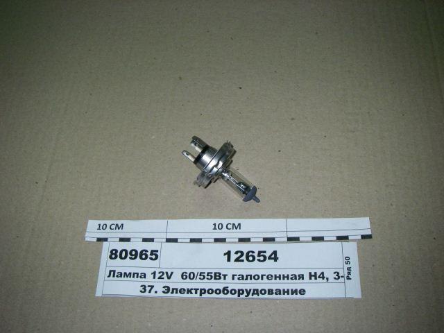 Лампа 12V  60/55Вт галоген. Н4, 3-х штырев. P45t (ДИАЛУЧ), 12654 -  Avtogradus интернет-магазин в Киеве