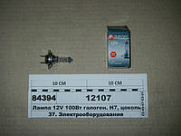 Лампа 12V 100Вт галоген. Н7, цоколь PX26D (ДИАЛУЧ), 12107