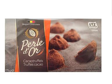 Конфеты бельгийский трюфель с какао Perle d'Or, 200г