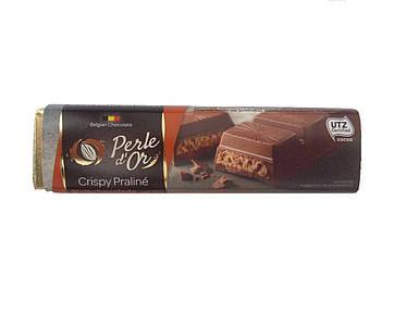Шоколадный батончик хрустящее пралине Perle d'Or, 75г