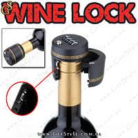 """Замок на бутылку - """"Wine Lock"""", фото 1"""