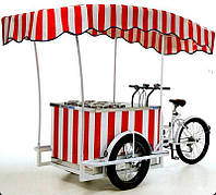 Вело-тележка торговая