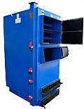 Твердотопливный котел Идмар ЖК-1-65 кВт длительного горения на любых видах твердого топлива, фото 3