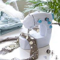 Портативная швейная машинка 4 в 1 Mini sewing maсhine, мини портативная швейная машинка 4 в 1 Соу Виз FHSM 201
