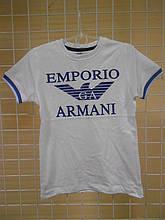"""Брендові футболки для хлопчиків """"Армані-3"""" ТМ Wanex, Туреччина р. 86-116см"""