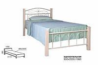 Кровать односпальная металлическая Элизабет