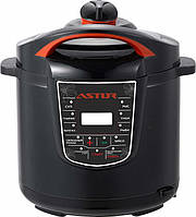 Мультиварка Astor CY-1565, мультиварка, мультиварка 1000ВТ, мультиварка 5 литров, пароварка, скороварка
