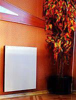Электропанель керамическая тепловолновая Teploceramic 370 Вт стандарт белая, панель для отопления настенная