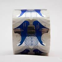 Формы для наращивания ногтей Global Fashion 500шт, одноразовые бумажные формы для наращивания