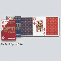 Карты Opti Poker с большими 2-мя индексами 55 листов