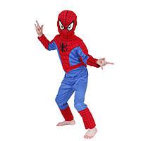 Карнавальный костюм Человек Паук Spiderman Spidermen Спайдермен детский