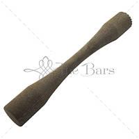 Мадлер XL ребристий/плоский d 40 мм, h 295 мм деревяннный The Bars B002XLWD