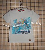 Высококачественные футболки для мальчиков ТМ Wanex, Турция р.104-134см